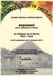 Exposition de Josette Delalay et Michel Manini