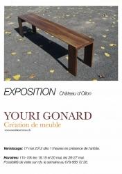 Exposition de Youri Gonard