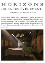 Exposition de Nicolas Imhof